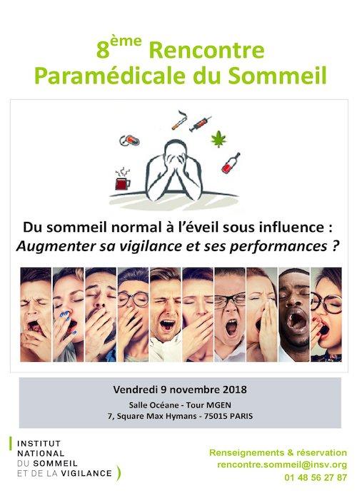 8e Rencontre Paramédicale du Sommeil